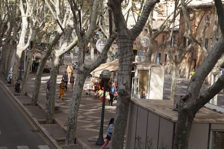 Habitación en el centro La Rambla - Palma - Appartement
