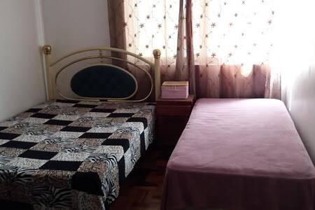Quarto amplo e confortável - Blumenau - Apartamento