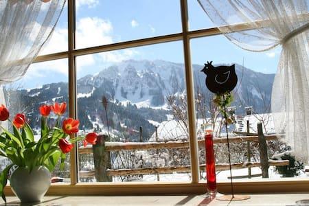 Wunderschöne Ferienwohnung Allgäu - Rettenberg - Pis