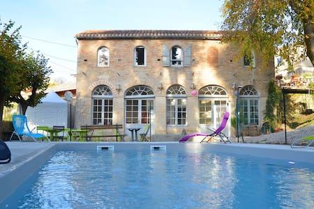 Gîte piscine et spa PARC WAECHTER - Molières