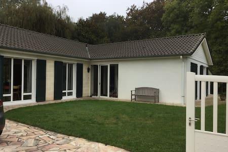 Maison  de 140m2 grande pièce à 60m2 terrain 2700m - Santeny - House