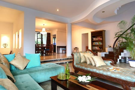 Luxury Villa with panoramic views of the river - Siolim - Villa