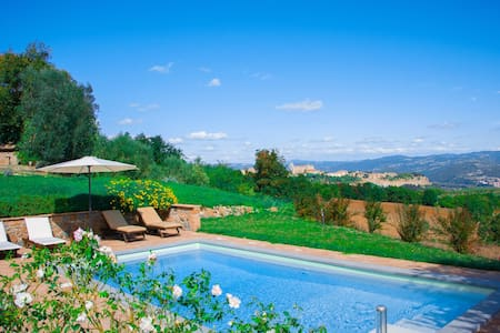 Luxury Villa with Private Swimming Pool and SPA - Orvieto