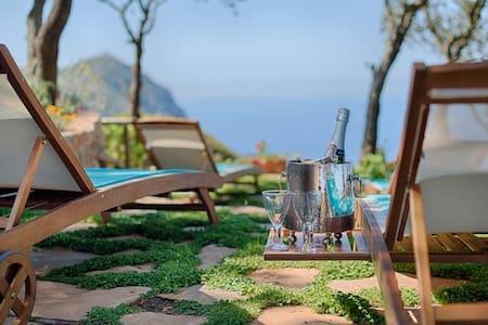 Spacious, private 4 bedroom villa close to the sea - Monte Argentario - Villa
