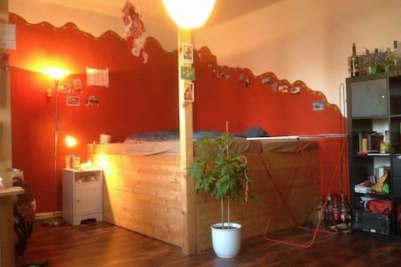 Well-spaced,cosy room in center - Rostock - Appartamento