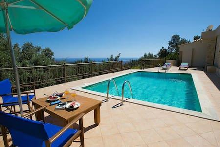Relax in Triopetra-View Libyan Sea! - Rethimnon - Villa