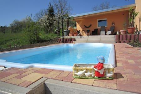 Schwimmen&Wohnen in den Weinbergen - House