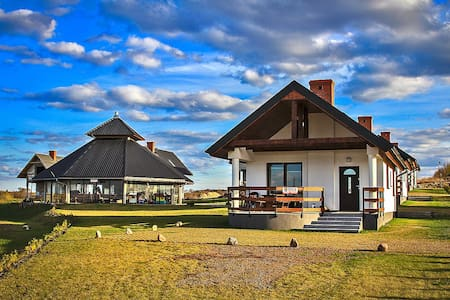 New guesthouses with beautiful lakeview - Sterławki Małe - House
