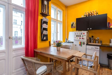 Family-friendly + near to the party - Wohnung
