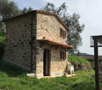 Rustico romantico nelle Seimiglia - Fibbiano - Rumah