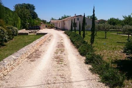 Entre Cèze et Ardèche, maison où il fait bon vivre - Ev