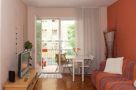Cozy double room close to the beach. - Barcelona - Flat