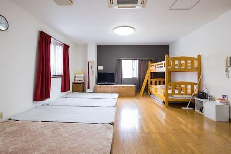 5bedrooms☆30people☆private building - Huis