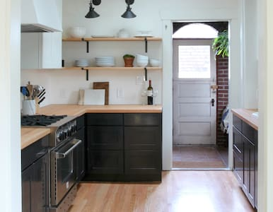 This landmark historic Spanish-mission home is just a short walk, bike ride, or bus ride from South Lake Union, Fremont, Queen Anne.  Fully renovated in 2015, it features 3 bedrooms, 2 baths, a chefs kitchen, dining space for 8, and all the charm you'd expect in a 1905 home.