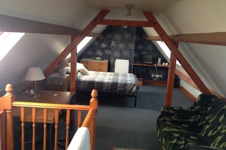 Airy, spacious double loft room - Malmesbury - Loft