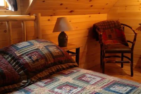 Full Bedroom in The Hurricane Mountain Lodge - House