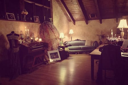 Private Art Chalet Apartment - Royersford - Chalet