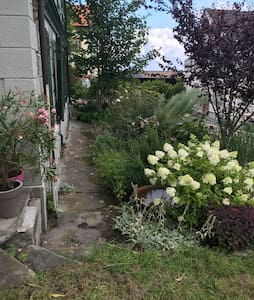 "Gartenwohnung ""Zum Grünen Haus"" - Walzenhausen - Rumah"