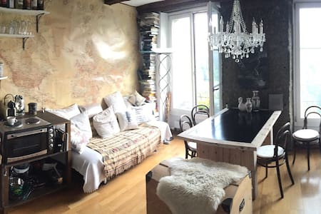 Charming studio with adventure flair in oldtown - Apartemen