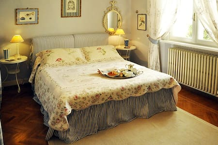 Luxury bedrooms in Villa with pool near Florence - Montecatini Alto - Villa