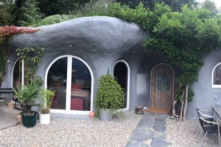 Erdhaus-Erlebnis mit Seesicht - Earth House