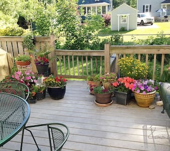 Comfortable room, walk to downtown! - Portsmouth - Casa