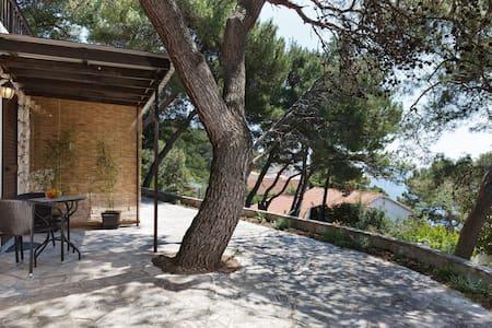 Modern terraced studio for 2 by the sea - Hvar - Wohnung