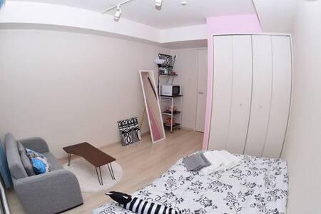 3min to Dotonbori Namba+Free WIFI - Apartment