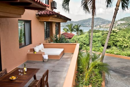 Relaxing and Romantic  w Ocean view - Zihuatanejo - Apartment