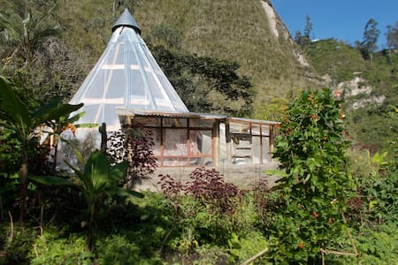"""Wayra"", magic place in the nature - Earth House"