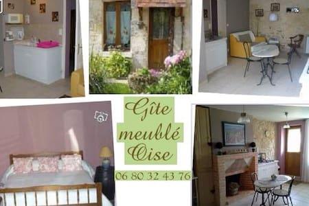 Gîte Oise proche Chantilly Senlis - Haus