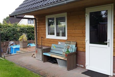 't Kleine Loo B&B nabij centrum Emmen - Emmen - Cabin
