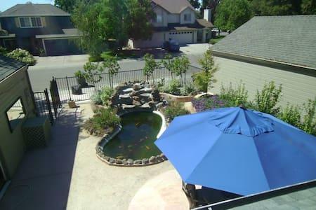 Garden view - Davis - House