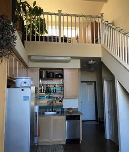 Modern and Cozy 1BD loft