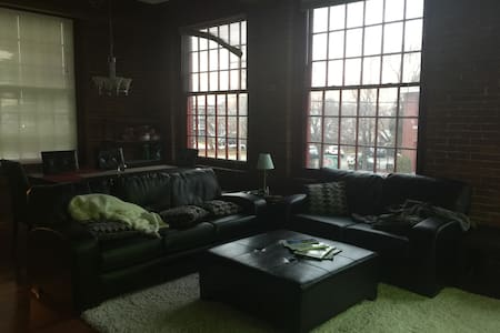 Private and bright loft-style apartment - Manchester - Condominium