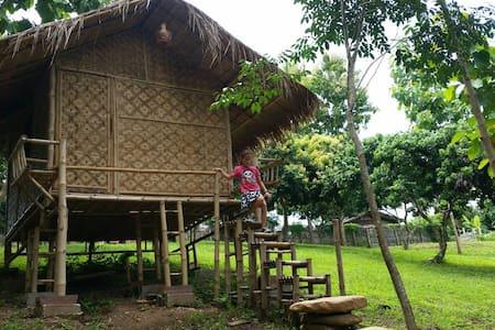 ์Nan De Panna Bamboo Hut