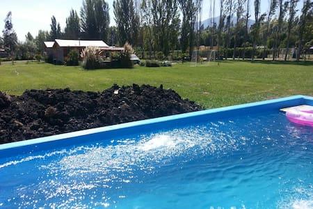 Casa de campo piscina areas verdes. - Sátor