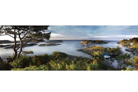 Spectacular view of the sea! - Klevsund - Cottage