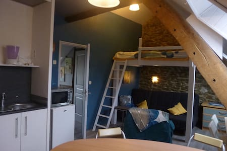 studio jouxtant  2 gîtes au Jardin - Apartament