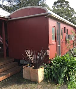 Train carriage country escape - Bed & Breakfast