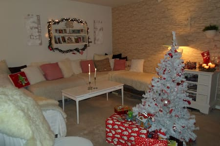 Big and lightfull livingroom