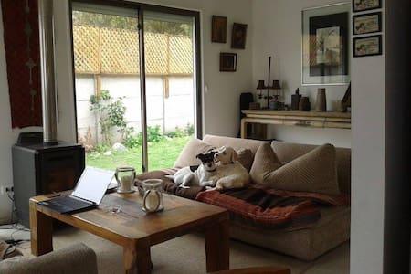 Habitación doble, rica casa en Laguna de Zapallar - Maison
