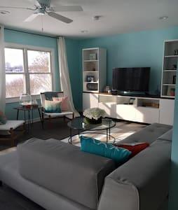 Modern All Seasons Lake House - Kalamazoo - Casa
