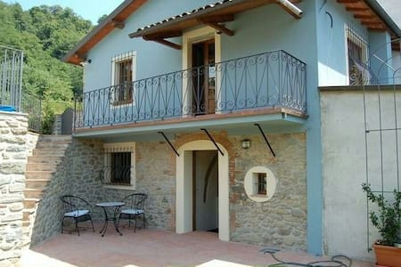 Holiday home in Tuscany hills - Mologno, Province of Lucca, Italy - Rumah