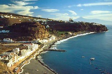 Apartamento de playa en el sur de La Gomera. - Playa de Santiago