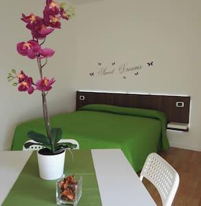 Your bedroom with private bathroom in Pisa - Huoneisto