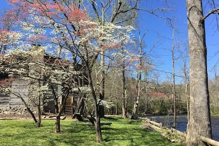 Rustic Comfort on the Little River! - Bed & Breakfast