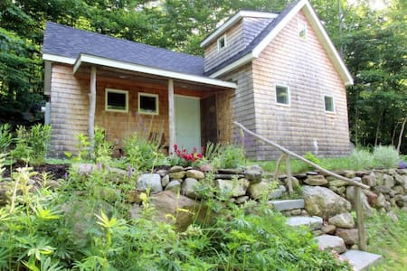 The Hosmer Pond Cabin - Camden - Huis