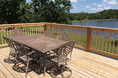 17 Acre Lake Retreat  - Cash Lodge - Perryville