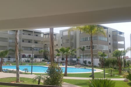 Appartement Haut Standing 95 m2- Bouznika Plage - Kondominium